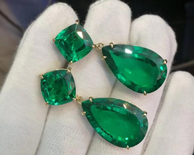 Emerald earring 2650$