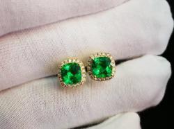Emerald Earring 285$